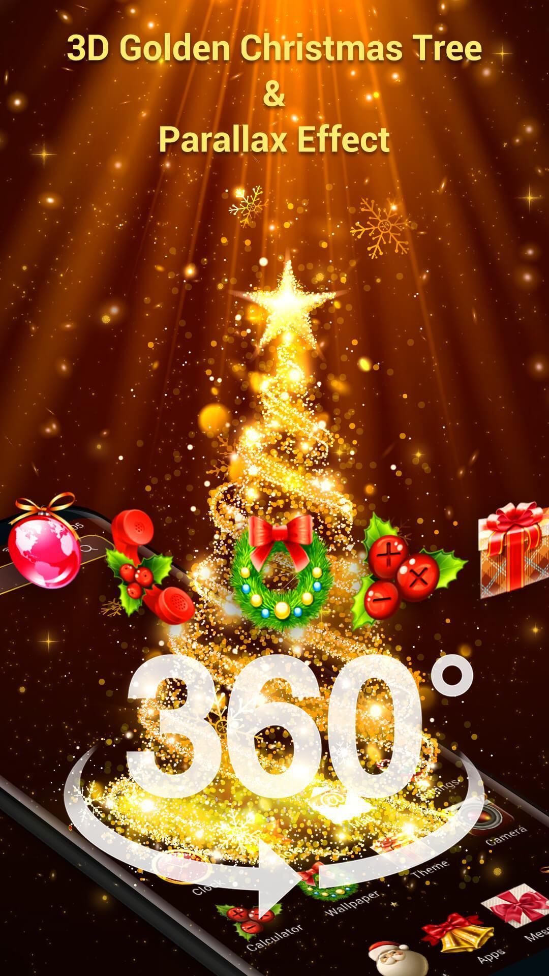 Christmas Countdown Widget.Christmas 3d Launcher Countdown Widget For Android Apk