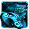 Tema Fidget spinner Launcher de graça ícone