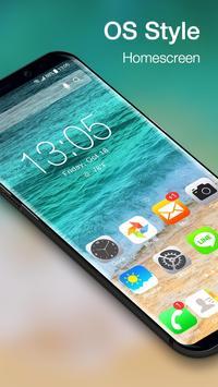 OS12 launcher theme &wallpaper screenshot 1