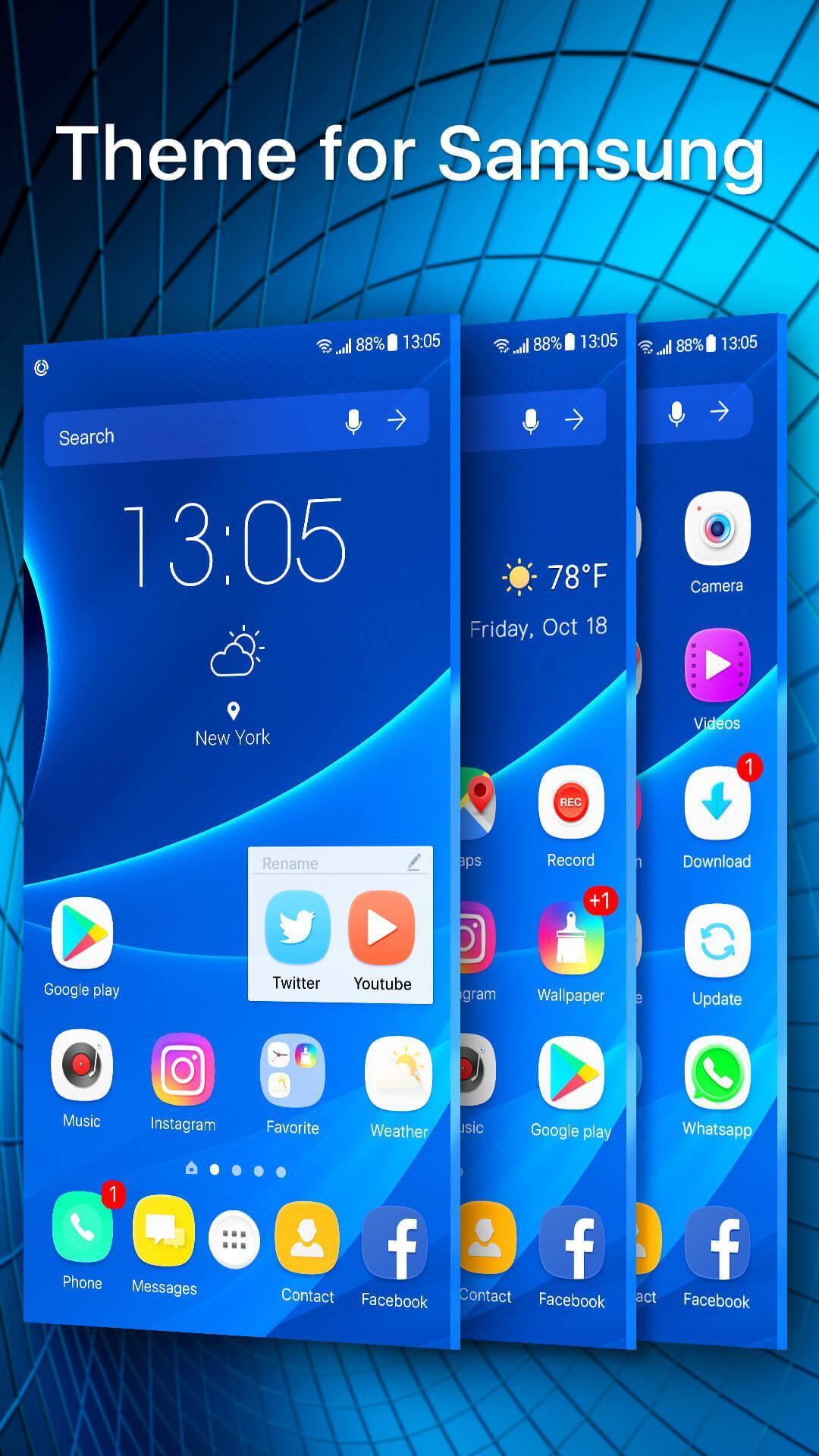 S9 launcher theme &wallpaper for Android - APK Download