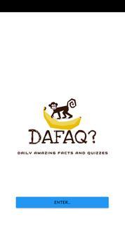 DAFAQ poster