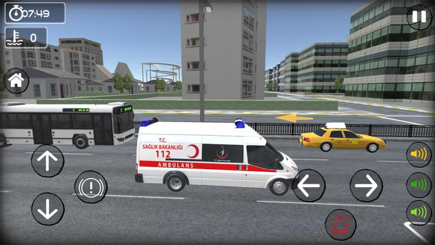 TR Ambulans Simulasyon Oyunu screenshot 17