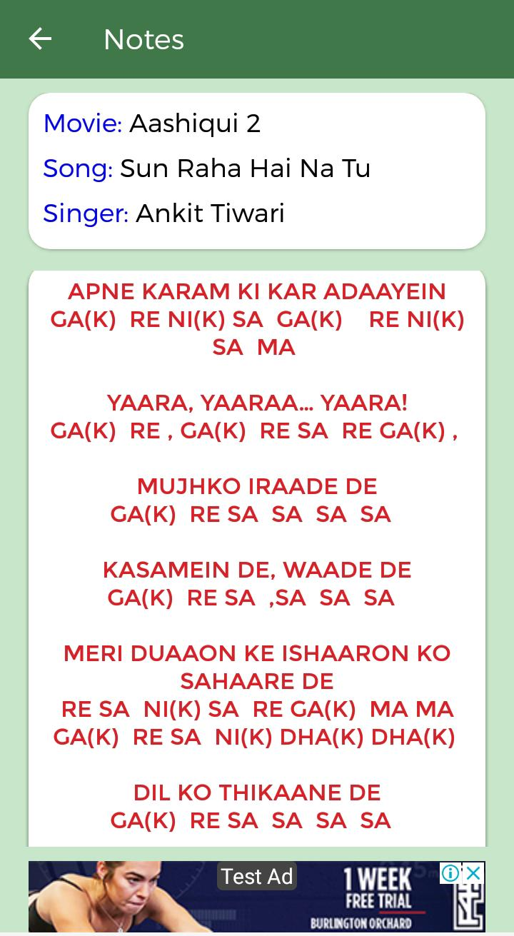 Sargam Piano Notes Chords For Bollywood Songs For Android Apk Download Burman — kuchh na kaho piano, brian silas, s. sargam piano notes chords for