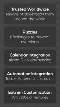 Alarm Clock for Heavy Sleepers — Loud + Smart Math 포스터