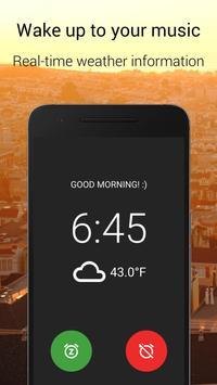 寝坊しがちな夜型人間用アラーム時計 - AMdroid スクリーンショット 1