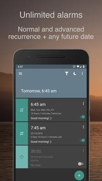 寝坊しがちな夜型人間用アラーム時計 - AMdroid スクリーンショット 2