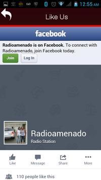Radio Amenado screenshot 2