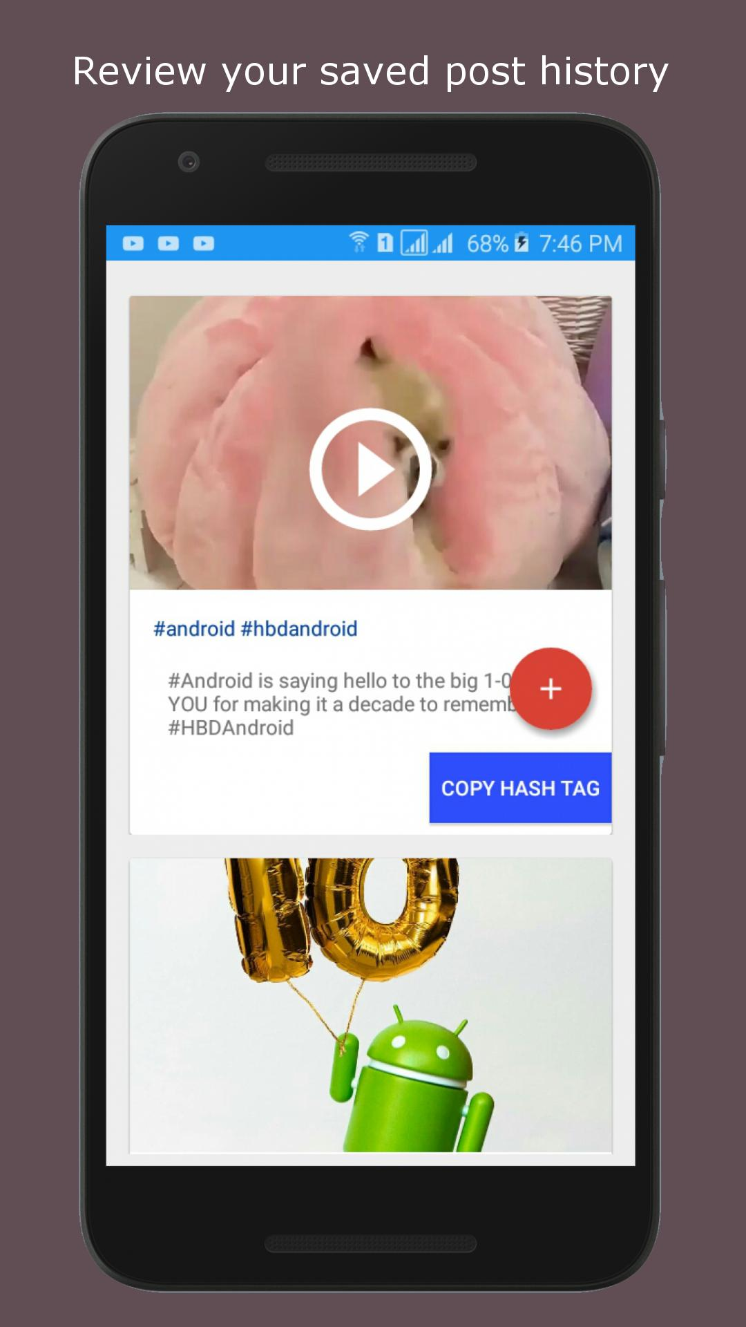 copy hashtags for instagram (Beta) for Android - APK Download