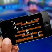 Lode Runner emulator and guide icon