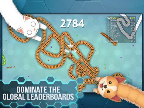 Snake.io - Fun Addicting Arcade Battle .io Games screenshot 13