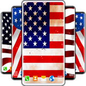 American Flag Wallpapers icon