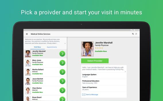 Atrium Health Virtual Visit تصوير الشاشة 10