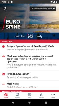 EUROSPINE Courses poster