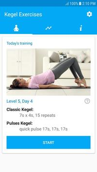 Kegel Exercises Poster