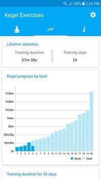 Kegel Exercises captura de pantalla 1