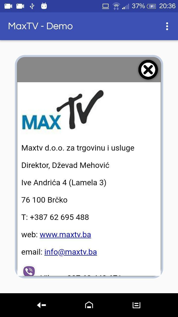 3 TÉLÉCHARGER MAXTV