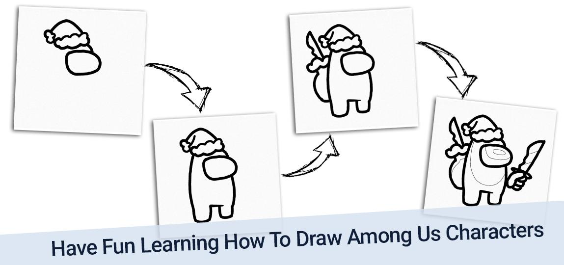 How To Draw Among Us For Android Apk Download