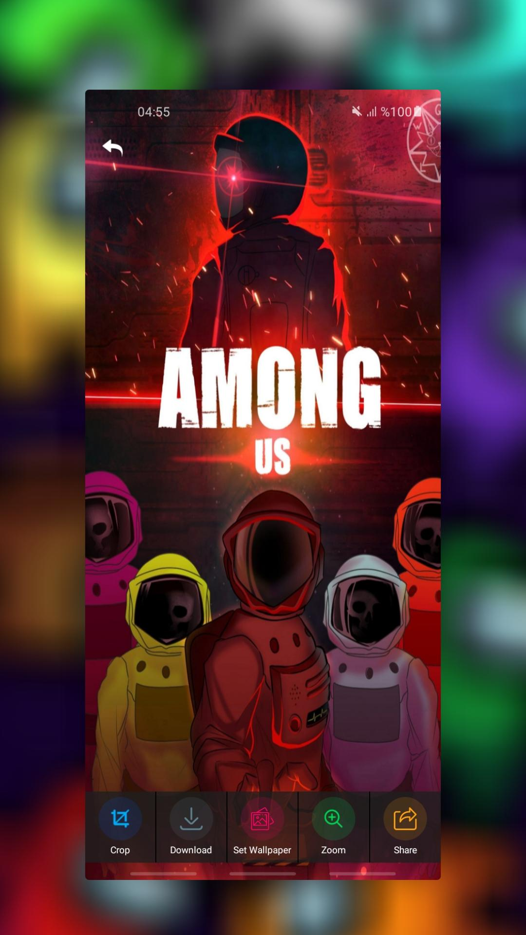 Among Us Live Wallpaper Backgrounds Lock Screen For Android Apk Download