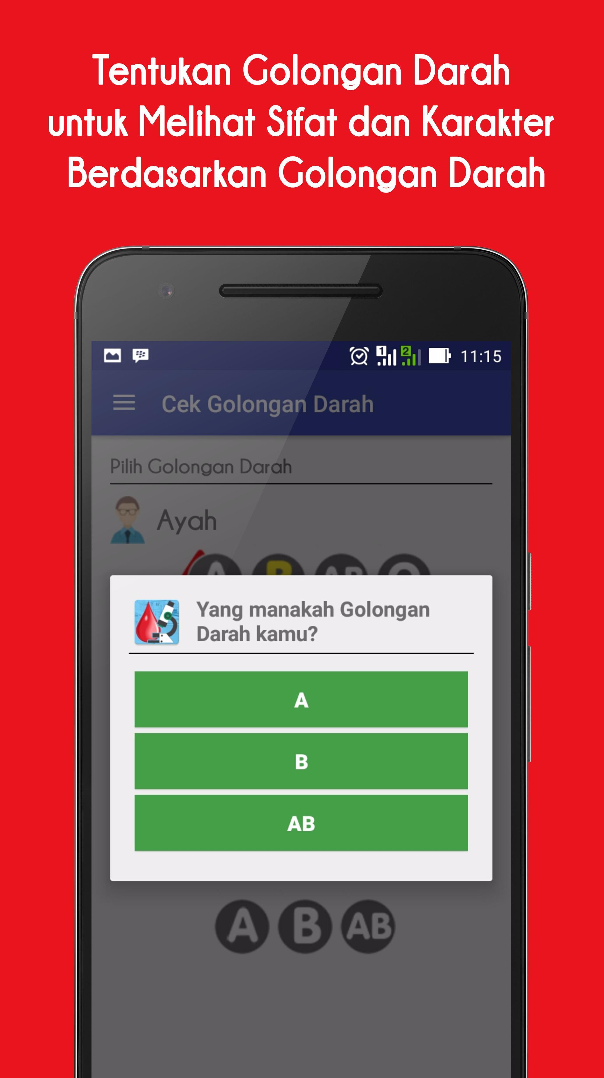 Cek Golongan Darah For Android Apk Download