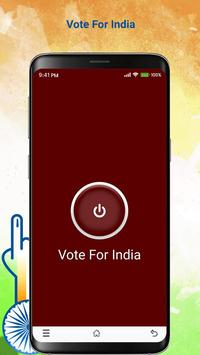 Vote For India 2019 poster