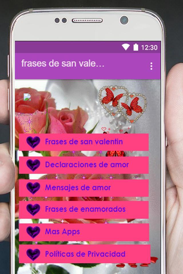 Frases De San Valentin Für Android Apk Herunterladen