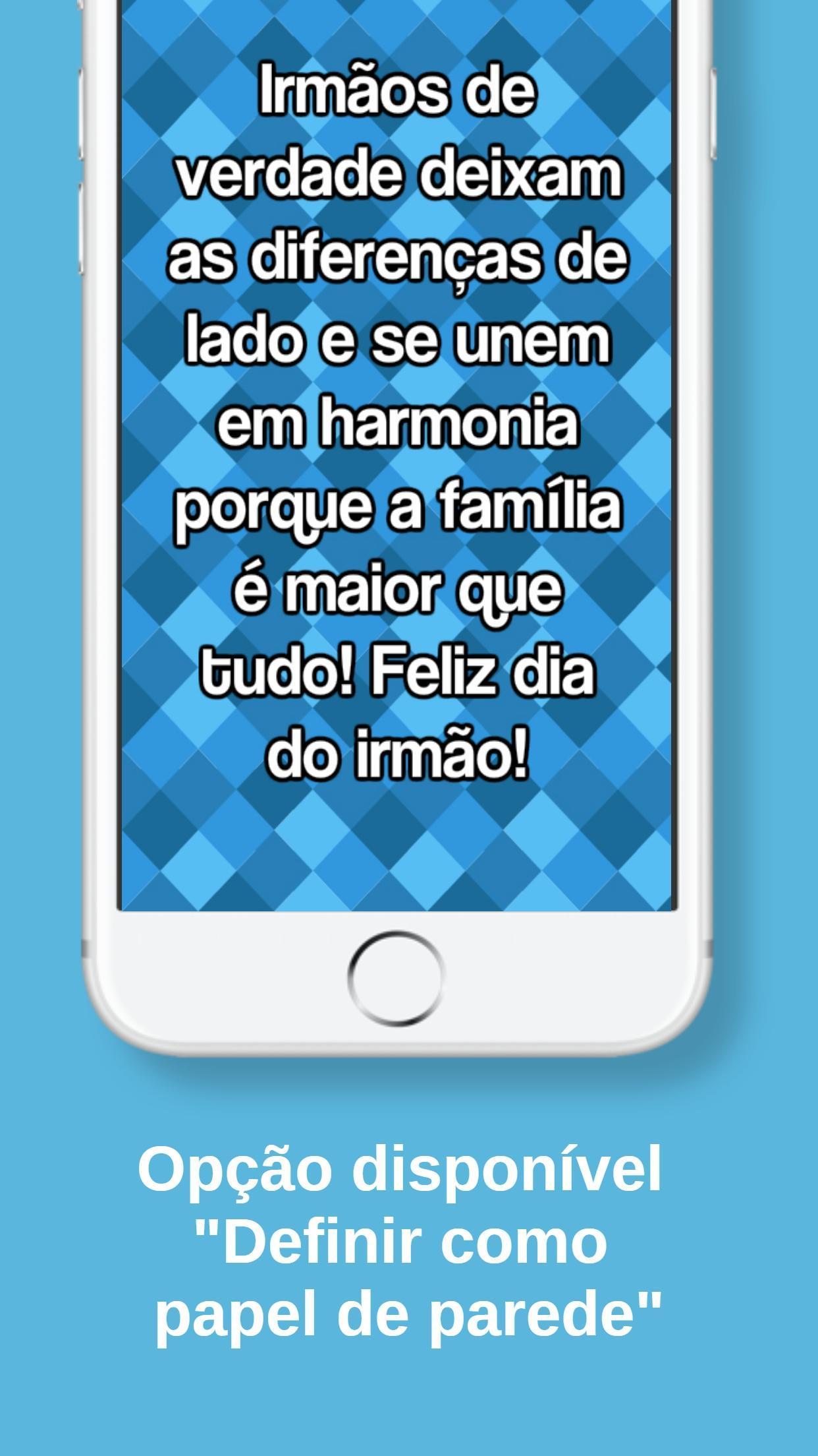 Frases Do Dia Do Irmão For Android Apk Download