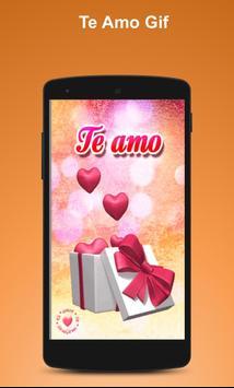 Te Amo Gif poster