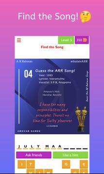 Guess A R Rahman Songs screenshot 4