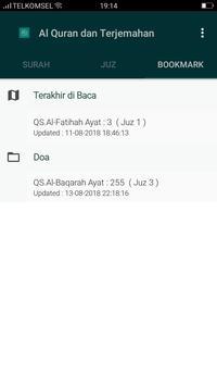 Al Quran & Terjemahan स्क्रीनशॉट 3