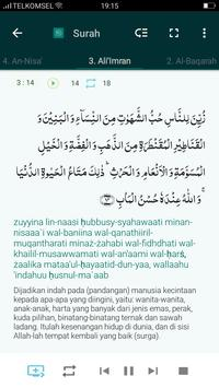 Al Quran & Terjemahan स्क्रीनशॉट 5