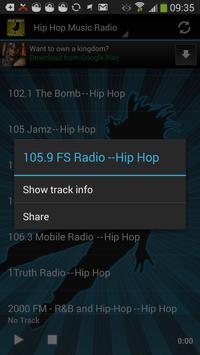 Hip-Hop Music Radio Worldwide screenshot 2