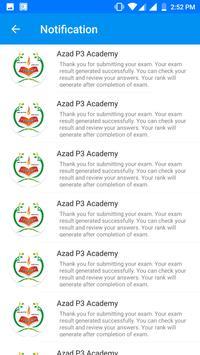 Azad P3 Academy screenshot 1