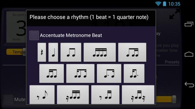 Creative Rhythm Metronome screenshot 3