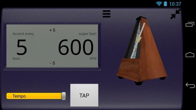 Creative Rhythm Metronome screenshot 5