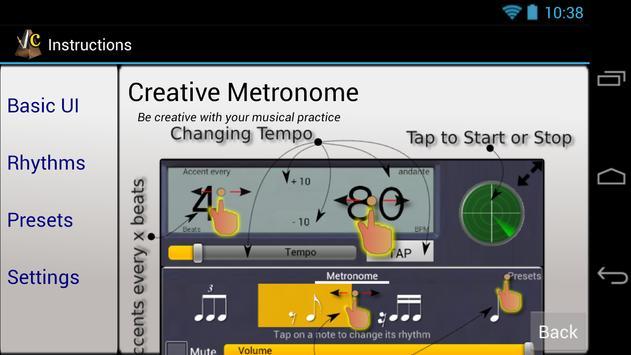 Creative Rhythm Metronome screenshot 7