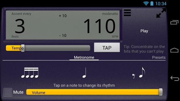 Creative Rhythm Metronome screenshot 9