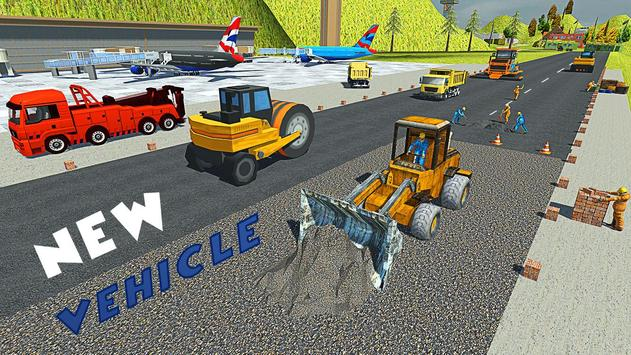 Uphill Runway Builder Vegas Airport Construction screenshot 17
