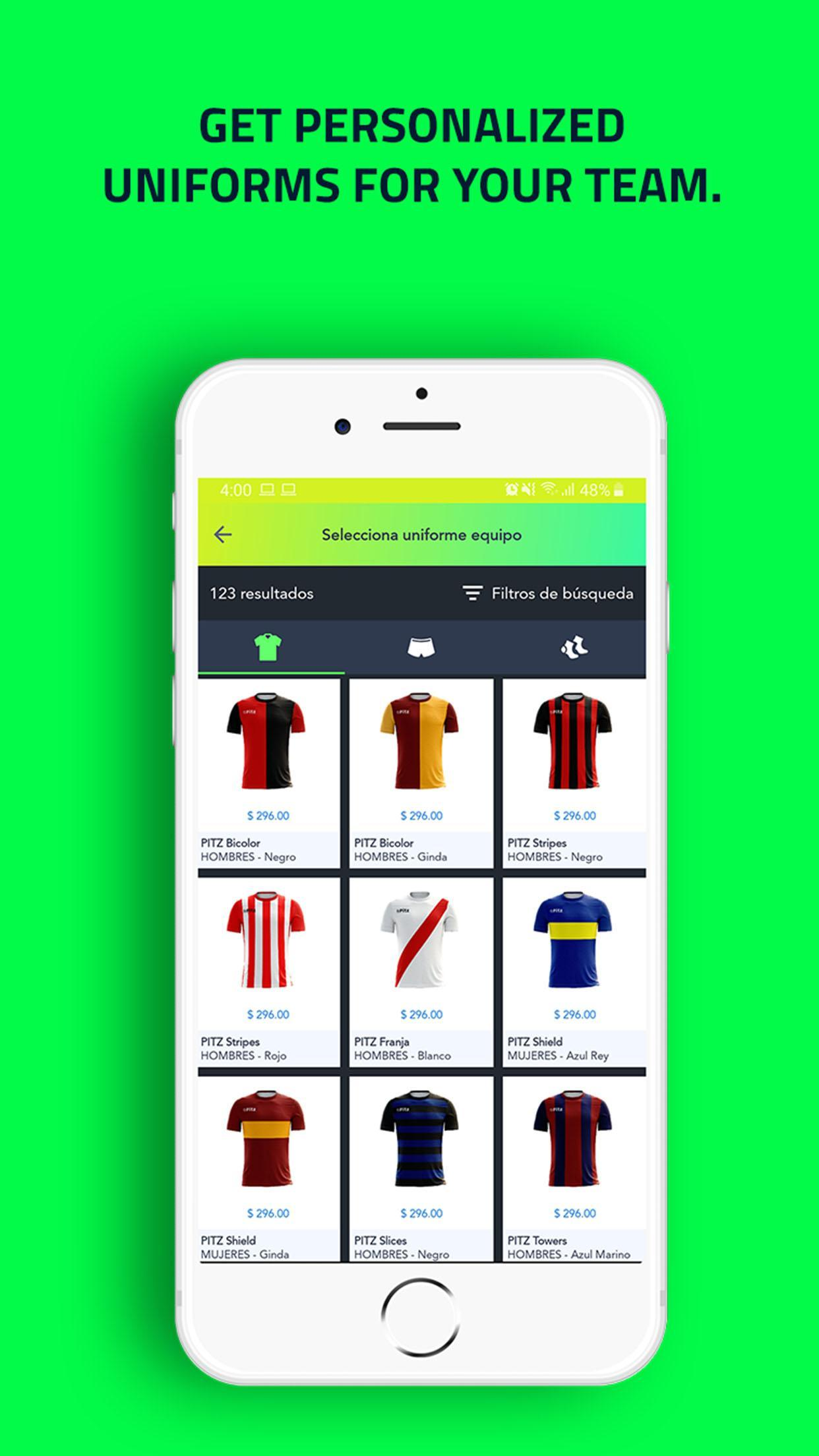 PITZ - ⚽ Best free App to play soccer for Android - APK