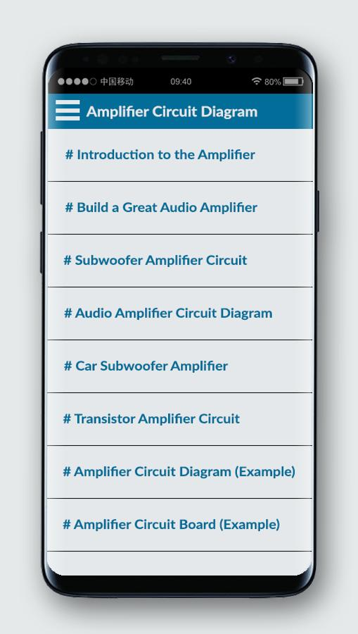 Amplifier Circuit Board Diagram for Android - APK Download