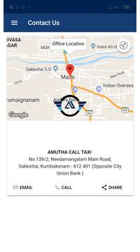 Amutha Call Taxi screenshot 4