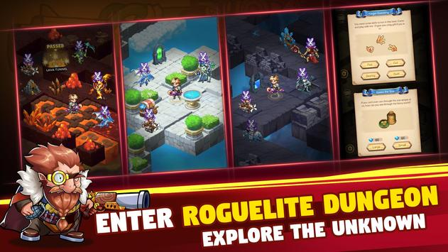 Brave Dungeon: Roguelite IDLE RPG स्क्रीनशॉट 8