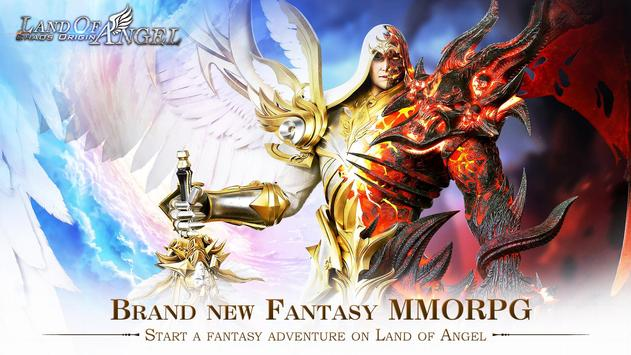 Land of Angel : Chaos Origin - Pre-register NOW ! poster