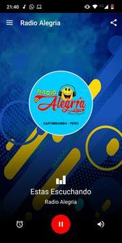 Radio Alegria 89.5 FM - Sartimbamba poster