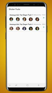 Sticker Pack for Ananya Nair Top Singer- WASticker poster