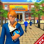High School Girls Simulator 2019: College Girls 18 icon