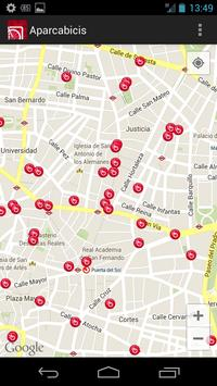 Aparcabicis Madrid screenshot 2