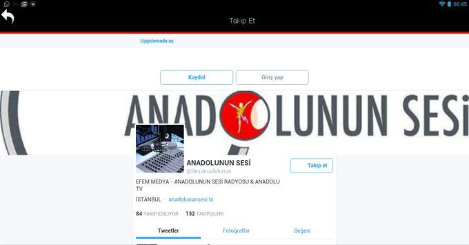 Anadolunun Sesi screenshot 10