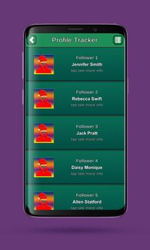 Profile tracker screenshot 3