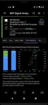 Speed Test WiFi Analyzer स्क्रीनशॉट 5
