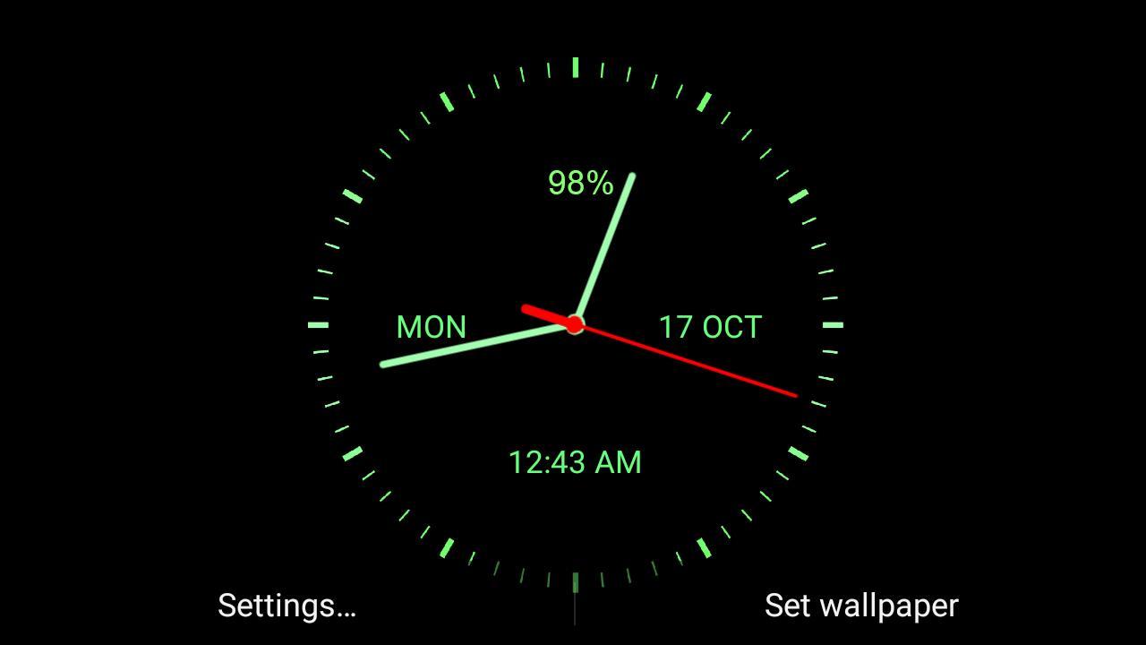 Analog Clock Download